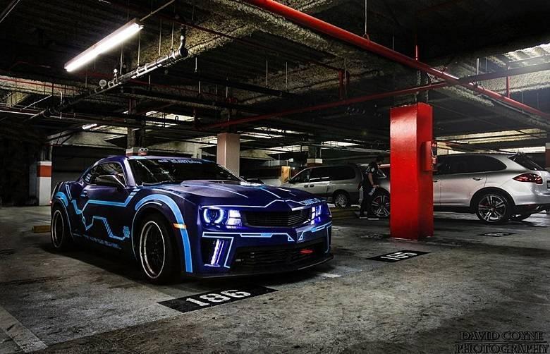 Chevrolet Camaro 'Tron'Saiba tudo sobre carros! Acessewww.r7.com/carros