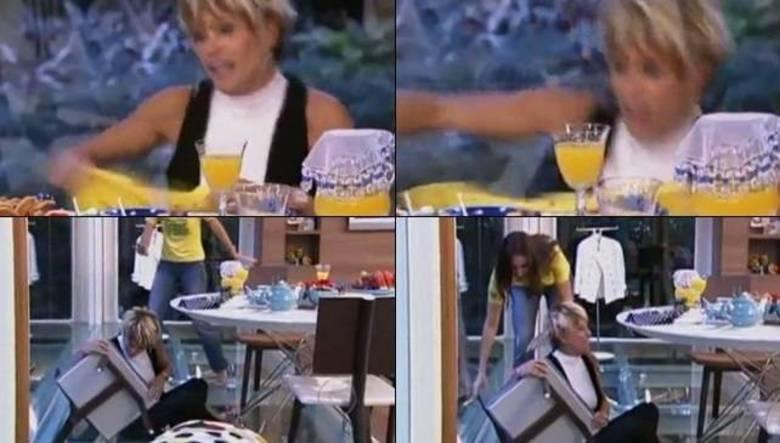 E o que dizer de Ana Maria Braga, mais uma vez ? A apresentadora que já protagonizou cenas hilárias em seu Mais Você, despencou de uma cadeira. Tudo isso ao vivo, claro!