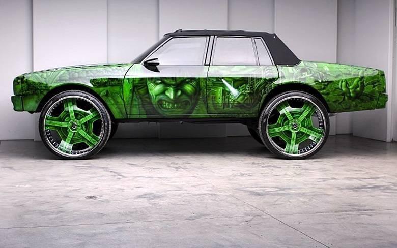 Carro do HulkSaiba tudo sobre carros! Acessewww.r7.com/carros