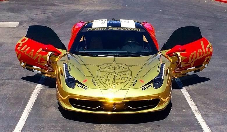 Ferrari 458 Italia — ou seria Ferawri?Saiba tudo sobre carros! Acessewww.r7.com/carros