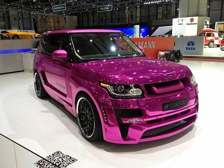 Land Rover Range Rover Vogue by HamannSaiba tudo sobre carros! Acessewww.r7.com/carros