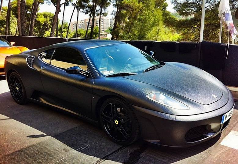 O astro do hip hop mandou cobrir o superesportivo italiano de couroSaiba tudo sobre carros! Acessewww.r7.com/carros