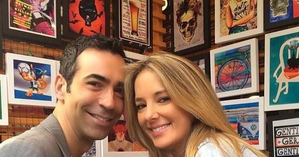 Só love! Ticiane Pinheiro se declara para César Tralli ...