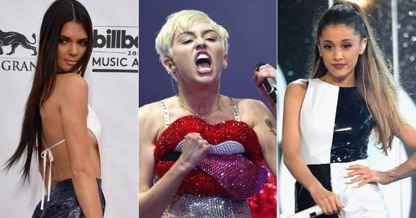 Palavrão, exagero e mico ao vivo! Miley Cyrus e outros famosos ...