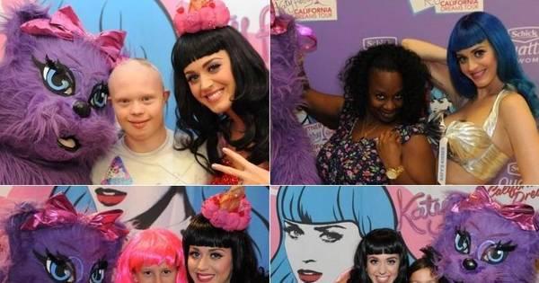 Esses artistas valem o seu dinheiro: Katy Perry é um doce de ...