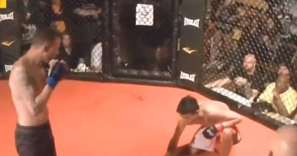Com pena do rival, lutador amador desiste do duelo depois de ...