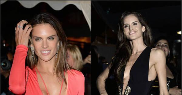Sensualizando em Cannes! Modelos brasileiras abusam do decote ...
