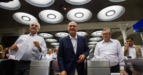 Alckmin não vai entregar metade do metrô que prometeu - Notícias ...