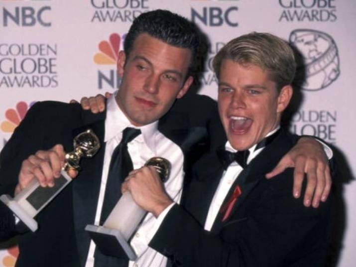 Matt Damon e Ben AffleckDois musos do cinema começaram a amizade cedo. Quando crianças, encenaram peças de teatro juntos e dividiram apartamento quando decidiram ser atores, em Los Angeles. Hoje em dia, continuam se encontrando