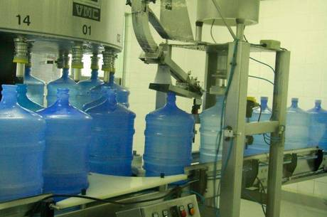 Equipamento usado na indústria da água