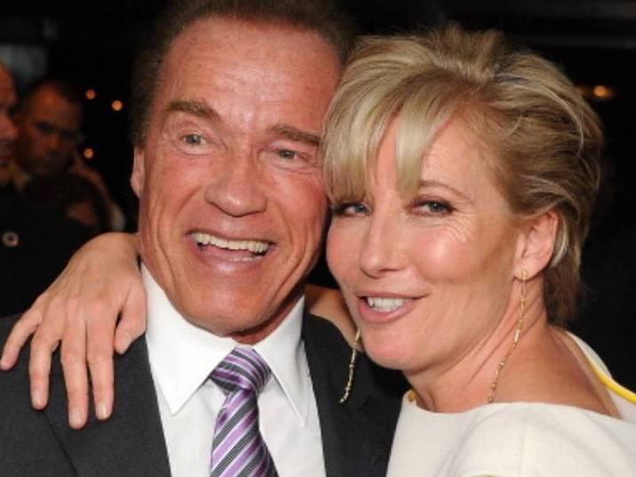 Emma Thompson e Arnold SchwarzeneggerHá 20 anos, os atores contracenaram emJunior (1994)e até hoje são amigos. Fofos!