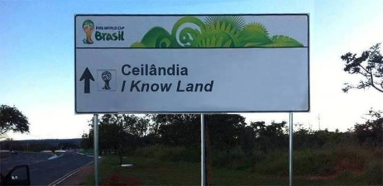 É a terra do saber?