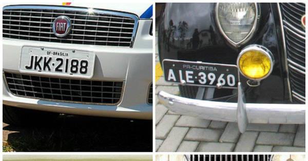 saiba o que significam as placas dos carros