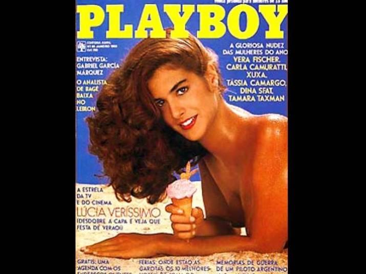 Lúcia Veríssimo (1983 e 1988)A atriz mostrou o corpão duas vezes. Na primeira, tinha 25 anos. Ela se tornou símbolo sexual na época