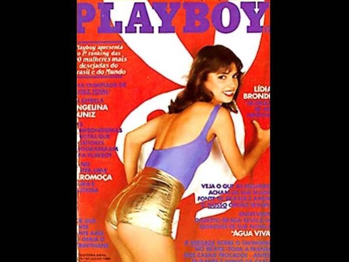 Lídia Brondi (1980 e 1987)A atriz posou duas vezes quando ainda vivia no meio artístico. Ela abandonou a carreira nos anos 90 ao se casar com Cássio Gabus Mendes. No primeiro ensaio, tinha 20 anos