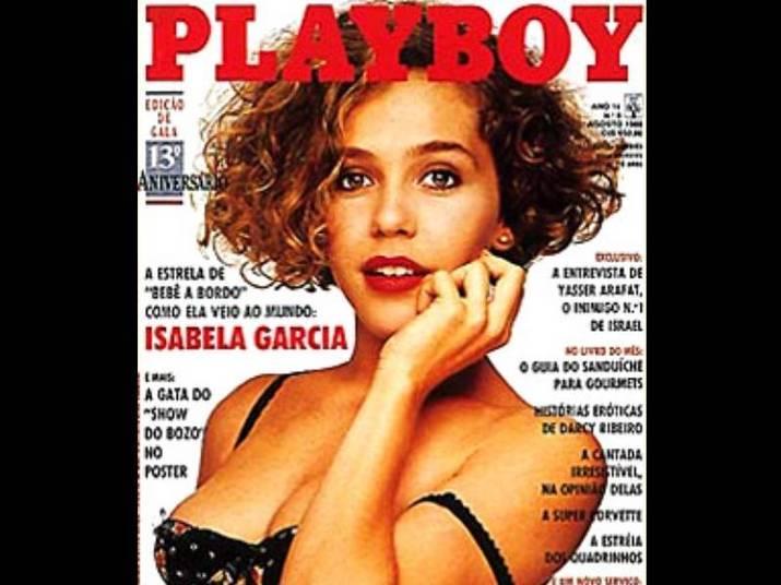 Isabela Garcia (1988)Com cara de novinha, Isabela posou nua aos 21 anos. Na época, estava na novela Bebê à bordo