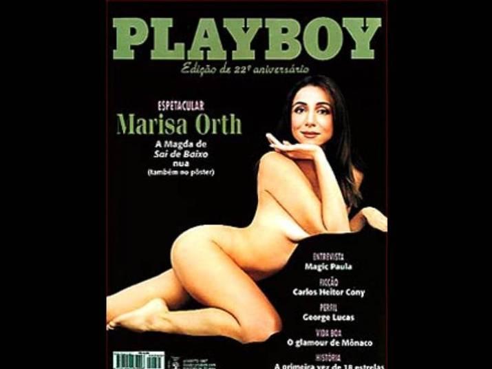 Marisa Orth (1997)Aos 34 anos, a atriz, mais conhecida como a Magda de Sai de Baixo mostrou o corpão. Foi uma das revistas que mais vendeu na história da Playboy