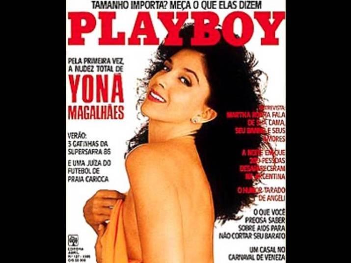 Yoná Magalhães (1985)Aos 50 anos, a atriz arrasou na capa da Playboy