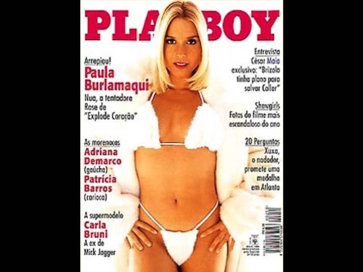 Paula Burlamaqui (1996)A loira posou sexy em Aspen, nos EUA. Ela tinha 29 anos