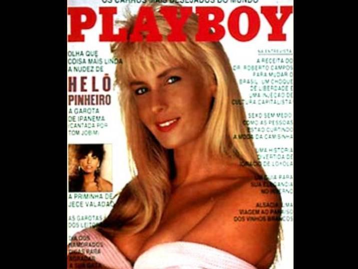Helô Pinheiro (1987 e 2003)A Garota de Ipanema posou aos 45 anos para a Playboy. Anos mais tarde, repetiu o feito ao lado da filha, Ticiane