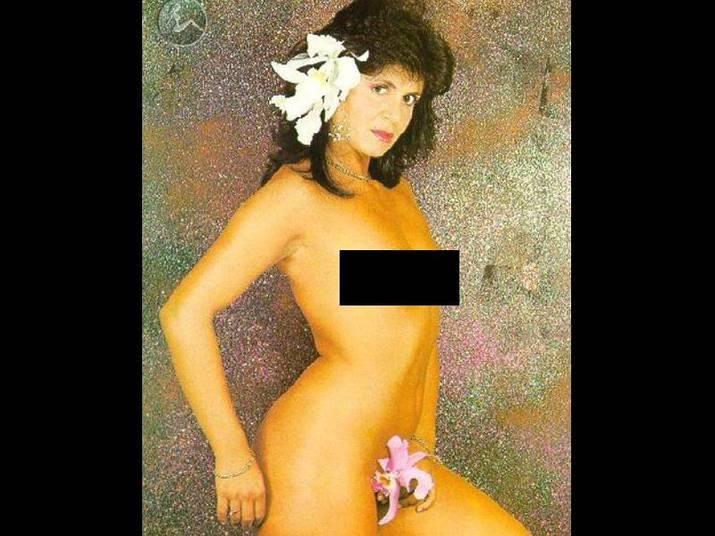 Gretchen (1979)Com 20 anos e no começo de sua carreira como cantora, Gretchen fez parte do recheio da revista Status em ensaio nu