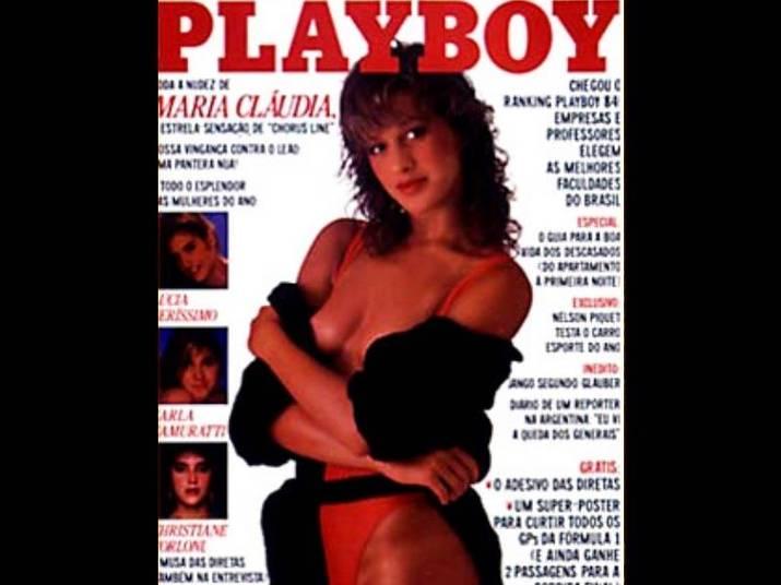 Claudia Raia (1985 e 1986)A gata estampou dois anos seguidos a capa da Playboy. Ela exibiu o corpo escultural aos 19 aninhos na primeira edição