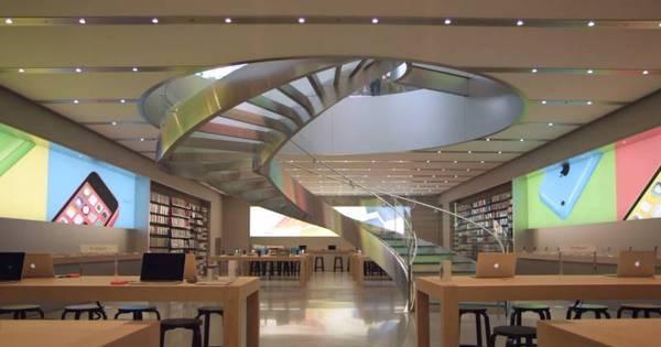 Por dentro da luxuosa loja da Apple em Tóquio, Japão - Fotos - R7 ...