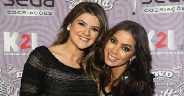 Grávida, Mirella Santos recebe mimo de Anitta em show ...