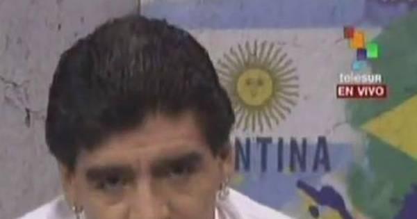 Ficou bravinho! Maradona não gostou de ser chamado de pé-frio e ...