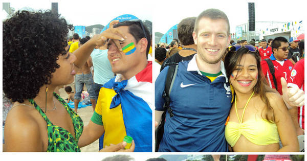 Copa: Festa da Fifa em Copacabana vira capital mundial da paquera