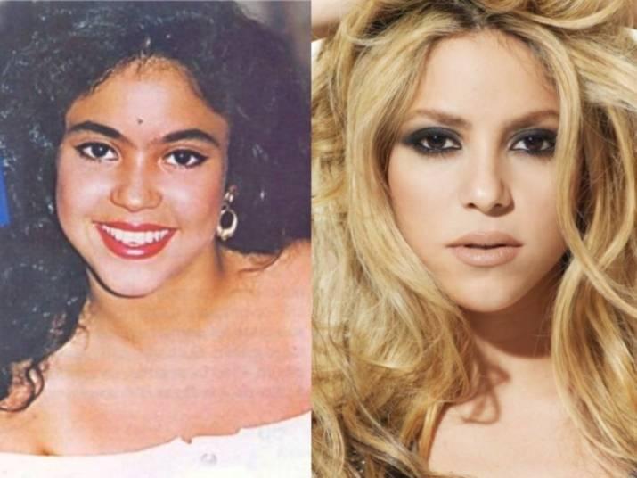 Shakira se transformou em um furacão. Antes com sobrancelhas grossas, cabelos escuros e encaracolados, a colombiana talvez nem soubesse que seria uma das mulheres mais invejadas do mundo e, mais do que isso, seria uma lourona fatal