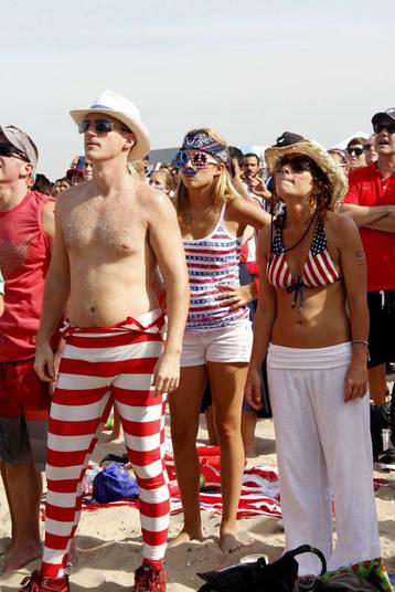 Os Estados Unidos deixaram para trás nesta Copa as fortes seleções de Portugal e de Gana