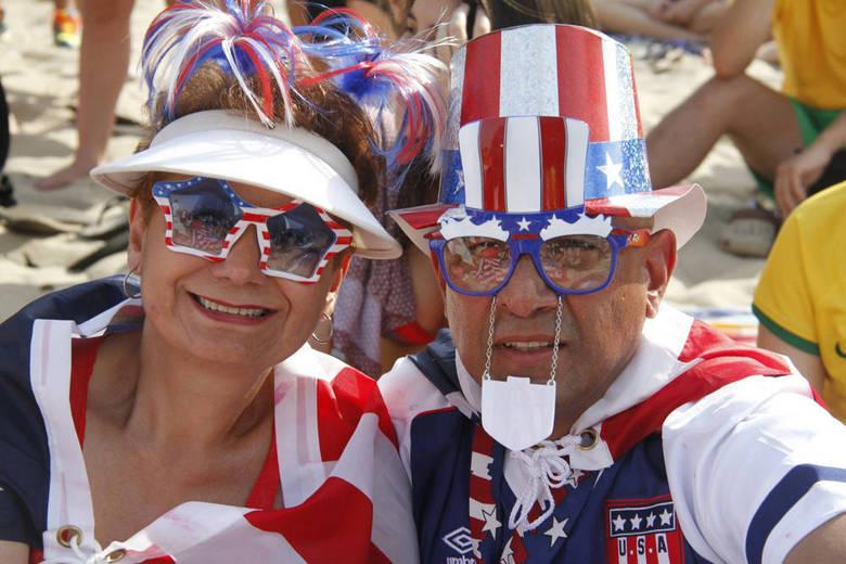 Os americanos têm tido motivos para sorrir nesta Copa. A seleção passou para as oitavas