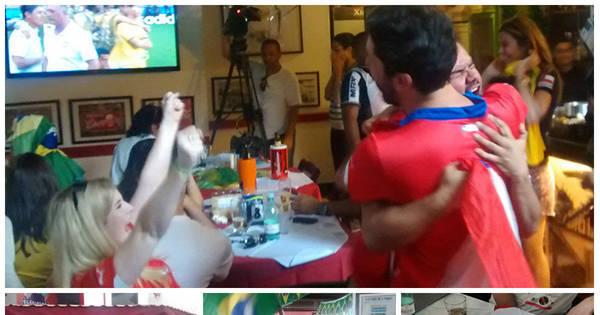 R7 acompanhou todo o sofrimento dos chilenos no jogo contra o ...