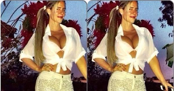 Denise Rocha ganha elogios de fãs ao mostrar foto com ...