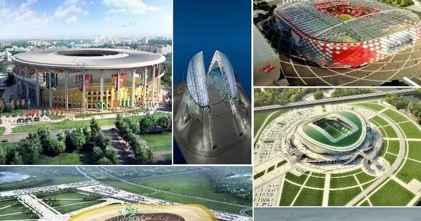 Conheça os estádios da próxima Copa do Mundo que acontecerá ...