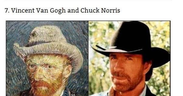 Medo! Veja celebridades que se parecem com pessoas do passado ...