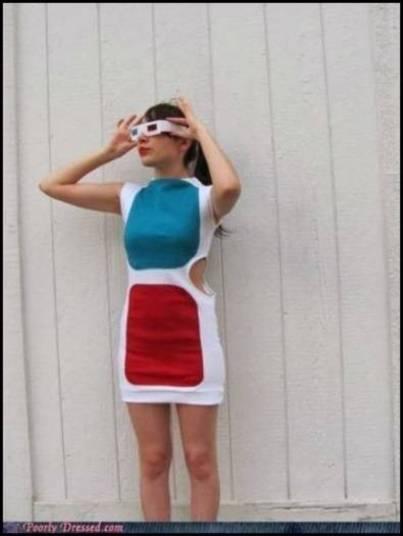 Vestido 3D?