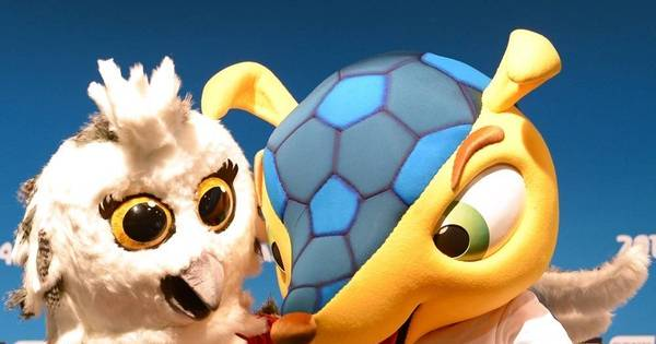 Fuleco apresenta mascote da Copa do Mundo Feminina - Futebol ...