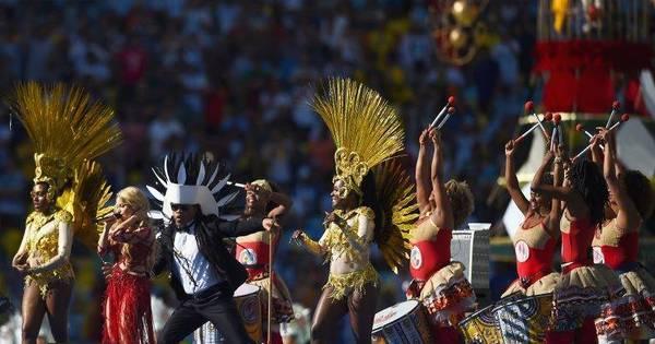 Veja as melhores imagens da cerimônia de encerramento da Copa ...