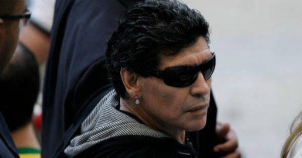 """Maradona: """"Nós temos mais fome de glória que os alemães ..."""