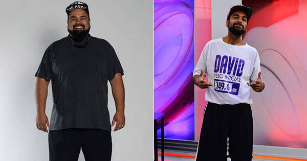 """Vencedor do """"Além do Peso"""", David conta como perder 70 kg ..."""