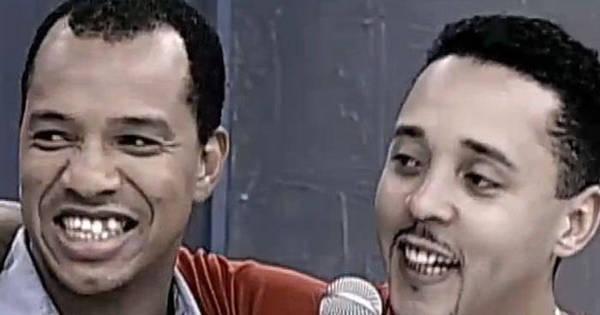 Andrezinho e Anderson, líderes do grupo de pagode Molejo, fazem ...