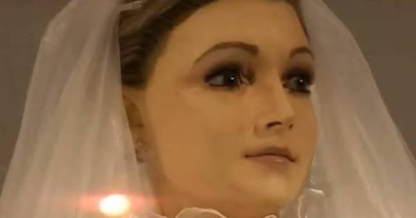 Mistério! Idêntico à noiva morta, manequim de loja pode ser defunto ...
