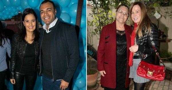 Climão? Denílson e Luciele Di Camargo comemoram 4 anos da ...