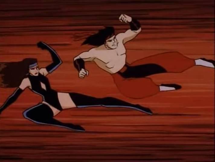 O desenho Mortal Kombat se originou de uma série de jogos eletrônicos em 1992. A franquia foi para a TV e virou sucesso. A criação mostra um grupo de guerreiros combatendo inimigos mortais que ameaçam o planeta Terra. Como arma de defesa, eles usam o amplo conhecimento e técnica em artes marciais. Lutadores como Raiden, Baraka e Scorpion eram os preferidos da molecada.