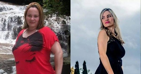 Pela metade! Mulher emagrece 53 kg com dieta Dukan e ganha ...