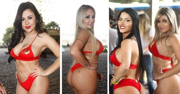 Celulite, gordura e flacidez... Candidatas a Miss Bumbum exibem ...