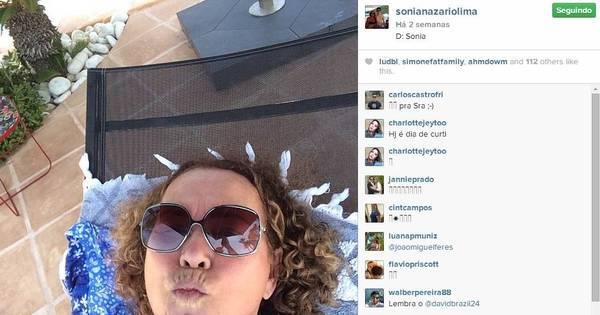 Morra de rir! Mãe de Ronaldo Fenômeno é uma figura no Instagram ...