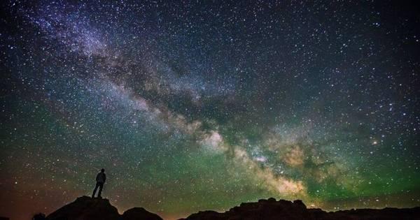 Fotógrafo captura céus noturnos deslumbrantes - Fotos - R7 ...